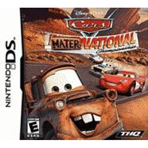 cars mater national achat vente de jeu nintendo ds priceminister rakuten. Black Bedroom Furniture Sets. Home Design Ideas