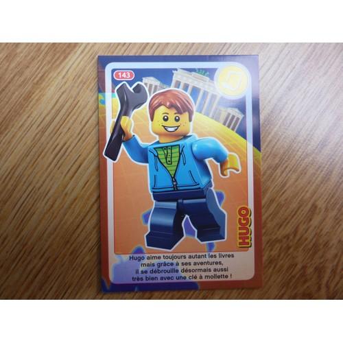 Carte Lego Auchan Livre.Carte Auchan Lego Cree Ton Monde Hugo N 143 Neuf Et D Occasion