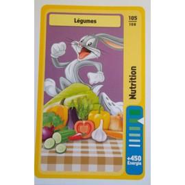 Carte Auchan Looney Tunes La Fete Du Sport N� 105