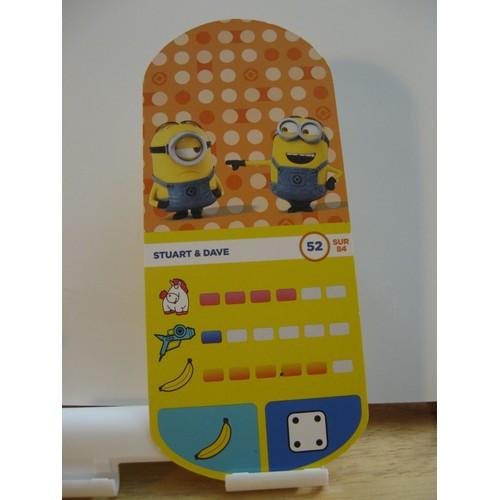Carte Auchan Baby.Carte Auchan Minions N 52 Stuart Et Dave