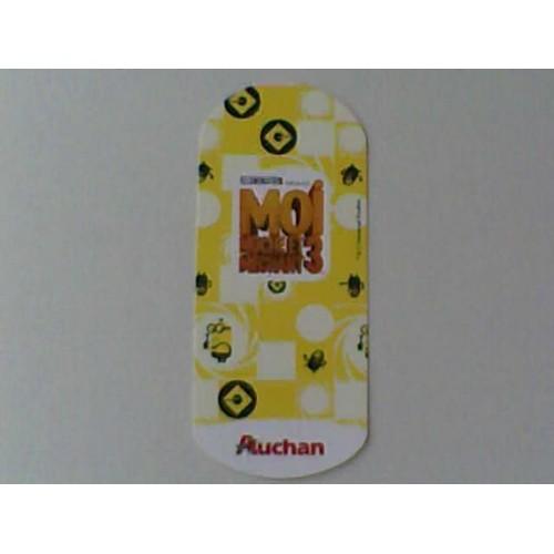 Carte Auchan Minion.Carte Auchan Moi Moche Et Mechant 3 N 22 Le Minion Perdant