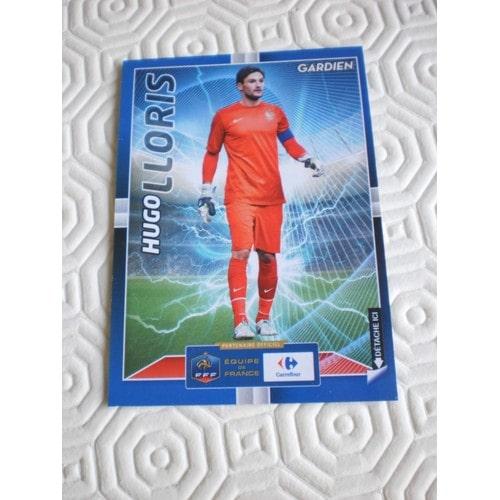 "Carte Carrefour De L'équipe De France De Football "" Hugo Lloris"