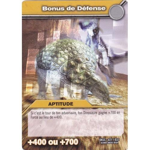 Carte de dinosaure king bonus de d fense aptitude - Carte dinosaure king ...