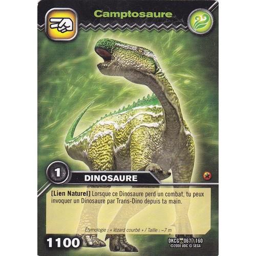 Carte de dinosaure king camptosaure neuf et d 39 occasion - Carte dinosaure king ...