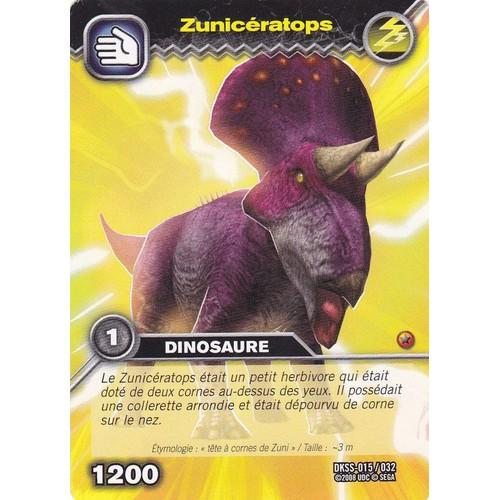Carte de dinosaure king zunic ratops neuf et d 39 occasion rakuten - Carte dinosaure king ...