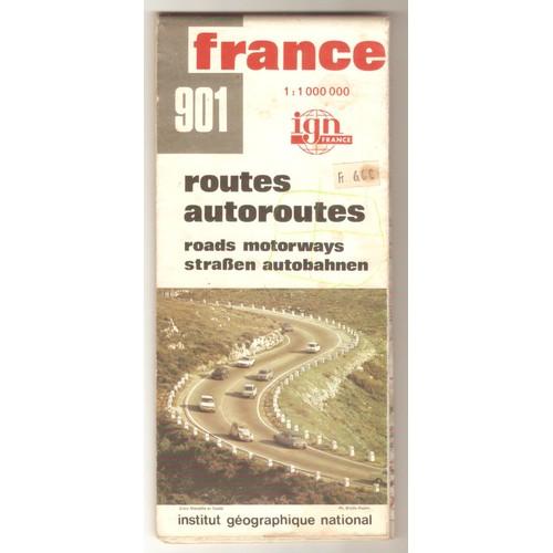 carte de france 901