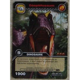 Carte dinosaur king daspl tosaure dkss 002 032 neuf et d 39 occasion - Carte dinosaure king ...