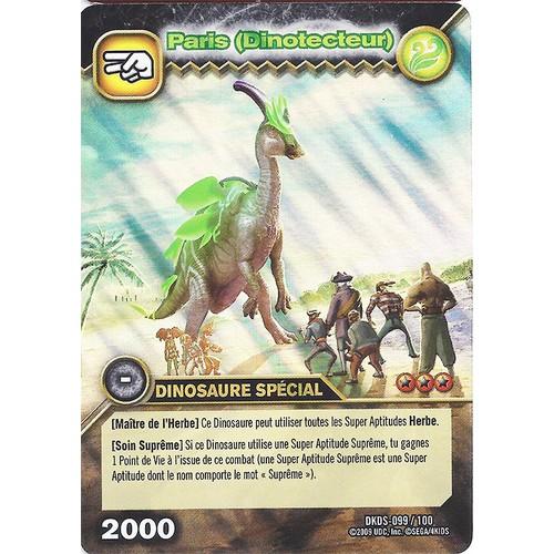 Carte dinosaur king dkds 099 paris dinotecteur neuf et d 39 occasion - Carte dinosaure king ...
