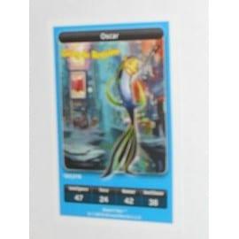 Carte Disney Carrefour 182/216 Oscar (Gang De Requins)
