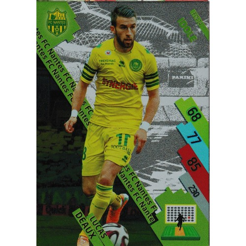 Carte Foot Panini Adrenalyn Xl 2014 2015 Fcn 14 Lucas Deaux Idole