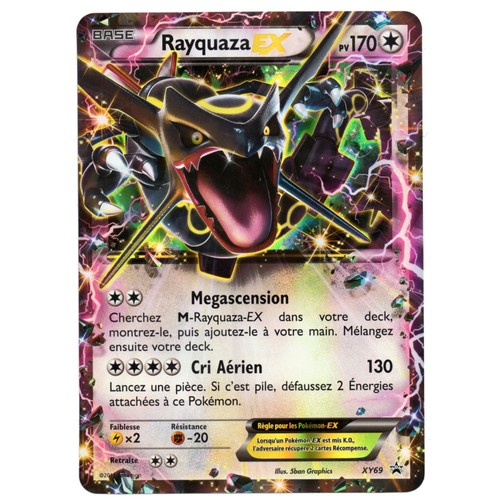 carte g ante pokemon rayquaza ex xy69 neuf et d 39 occasion. Black Bedroom Furniture Sets. Home Design Ideas