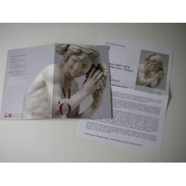 Carte Invitation Visite Presse Exposition Carpeaux Un Sculpteur Pour Lempire