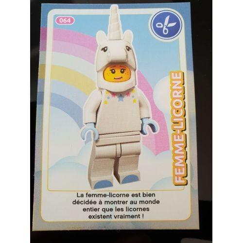 Carte Lego Auchan Livre.Carte Lego Auchan 2018 N 64 Femme Licorne Neuf Et D Occasion