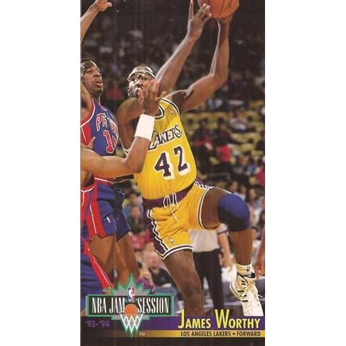 Carte Nba Jam Session 93-94 James Worthy Neuf Et D'occasion