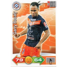Carte Panini Adrenalyn Xl Foot 2012 Garry Bocaly Montpellier N� 179