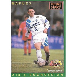 Carte Panini N�227 - Future Stars Alain Boghossian - Official Football Cards 1995