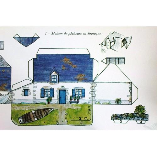 Carte pascaline n 1 maison de p cheurs en bretagne achat et vente - Maison de pecheur bretagne ...