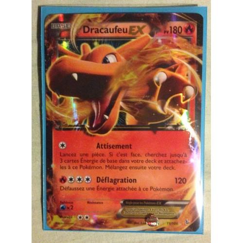 Carte pokemon dracaufeu ex 180 pv 11 106 xy etincelles vf - Pokemon dracaufeu ex ...