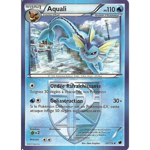 Carte pokemon glaciation plasma aquali 20 116 neuf et d 39 occasion - Carte pokemon aquali ...