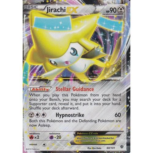 Carte pokemon jirachi ex neuf et d 39 occasion rakuten - Carte pokemon jirachi ...