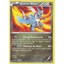 Carte Pokemon - Kyurem Blanc