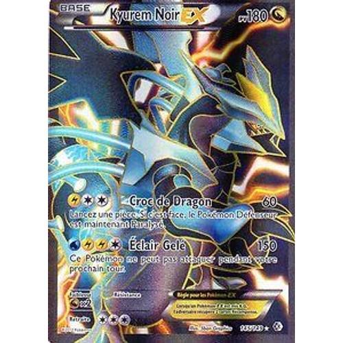 Carte pokemon kyurem noir ex 145 149 neuf et d 39 occasion - Carte kyurem ex ...