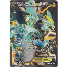 Carte pok mon 145 149 kyurem noir ex full art 180 pv - Pokemon kyurem noir ...