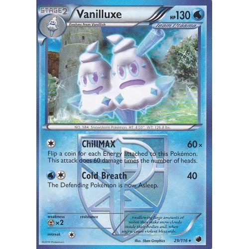 Carte pokemon vanilluxe sorbouboul de team plasma - Carte pokemon team plasma ...