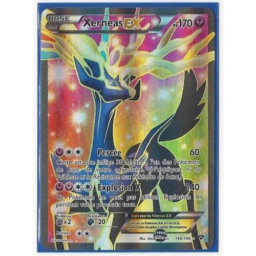 Carte pokemon xy xerneas ex 170 pv full art neuf et d - Carte pokemon electhor ex ...