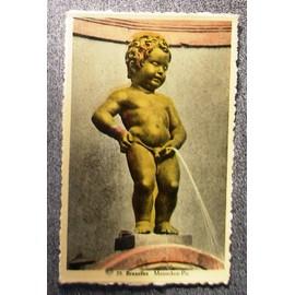 Carte Postale 39 Bruexlles Manneken-Pis