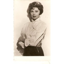 carte postale 9x13cm ann es 50 60 bords dentel s actrice cinema theatre francaise anne vernon. Black Bedroom Furniture Sets. Home Design Ideas