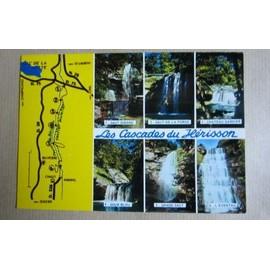 Carte Postale Affranchie : Les Cascades Du H�risson, Jura, 1981