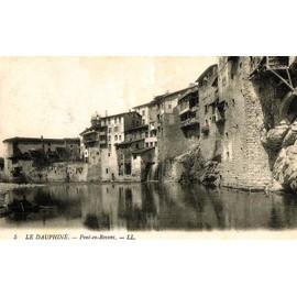 Carte Postale Ancienne, France, Is�re ( 38 ), Pont En Royans, Le Village