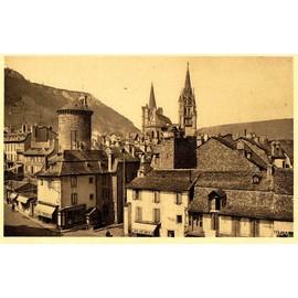 Carte Postale Ancienne, France, Lozère ( 48 ), Mende, Boulevard Du Soubeyran Et La Tour Des ...