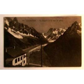 Carte Postale Ancienne Haute Savoie Chamonix La Flegiere Et La Mer De Glace