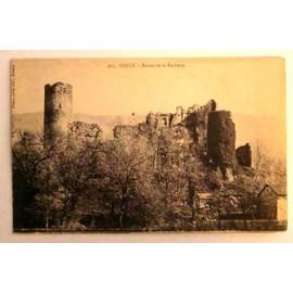 carte postale ancienne haute savoie lully ruines de la rochette. Black Bedroom Furniture Sets. Home Design Ideas