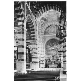 Carte Postale Ancienne N�4 - Marseille Notre Dame De La Garde Interieur De La Basilique - Editions D'art Yvon - Edition Speciale De La Basilique