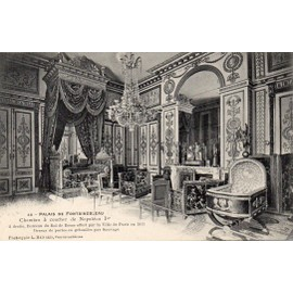 Carte postale ancienne palais de fontainebleau chambre - Chambre a coucher ancienne ...