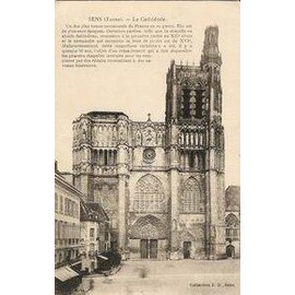 Carte Postale Ancienne Sens La Cath�drale