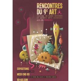 Carte Postale Barrome Nicolas Festival Bd Aix En Provence 2014