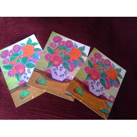 Carte ¨Postale Couleur Neuve Le Vase De Fleurs