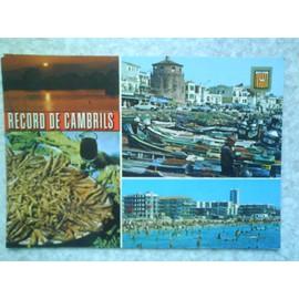 Carte Postale Despagne Cambrils Tarragone