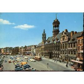 Carte Belgique Mons.Carte Postale De Mons Belgique Hotel De Ville Et La Place Rakuten