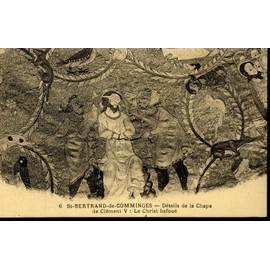 carte postale de saint bertrand de comminges haute garonne le christ bafou d tail de la. Black Bedroom Furniture Sets. Home Design Ideas