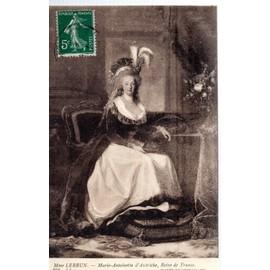 """Carte Postale Du Musée De Versailles (Yvelines) Tableau De Mme Lebrun : """" Marie-Antoinette D ..."""