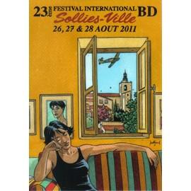 Carte Postale Juillard Andr� Festival Bd Solli�s Ville 2011