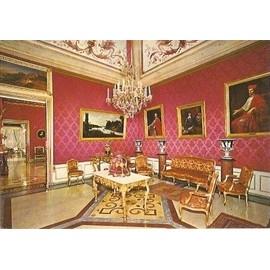 Carte Postale Monaco Palais Du Prince Salon Rouge Tenture Murale En ...