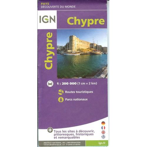 Carte Routiere Chypre Ign.Carte Routiere De Chypre Ign 1 200 000 1cm 2 Km