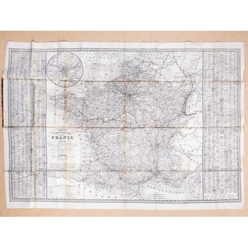 carte routiere france departementale et administrative