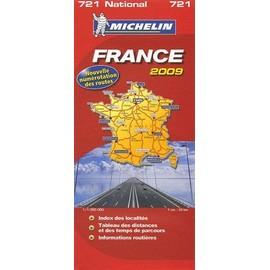 carte routi re national france de michelin 721 format carte plan. Black Bedroom Furniture Sets. Home Design Ideas